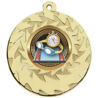 50 mm Swimming Medals With FREE Ribbon and free engraving up to 30 letters