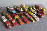 24 VEHICLE LOT VTG LESNEY MATCHBOX 1/64 DIECAST VINTAGE 1970'S SUPERKINGS