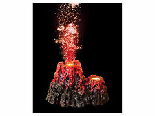 Super Underwater LED Volcano Aquarium Ornament Fish Tank NEW AND IMPROVED