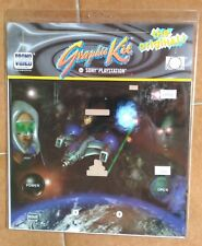 1998 PS1 Graphic Kit SPACE WORLD Cover Skin Playstation 1 Vintage Sony Videogame