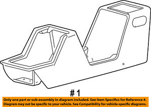 FORD OEM 03-05 Explorer Sport Trac Center Console-Console Panel 3L2Z35045A36AAA