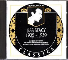 JESS STACY- CHRONOLOGICAL CLASSICS 1935-1939 CD (#795) RARE & All Stars