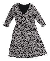 Marks & Spencer Womens Size 14 Floral Black Dress (Regular)
