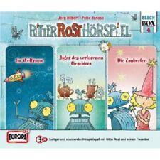 RITTER ROST - 04/RITTER BOX (FOLGEN 10,11 UND 12)  3 CD  KINDER-HÖRSPIEL  NEU