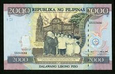 PHILIPPINES  2000  PISO 1998  COMMEMORATIVE ISSUE WITH FOLDER PICK # 189a  UNC.