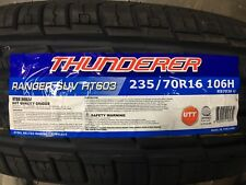 4 NEW 235/70-16 Thunderer Ranger SUV HT603  Tires 235 70R16 70R 2357016