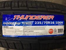 4 NEW 225/70-16 Thunderer Ranger SUV HT603  Tires 225 70R16 70R 2257016
