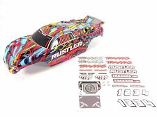 NEW TRAXXAS RUSTLER XL-5 COURTNEY FORCE EDITION BODY WITH DECAL SHEET 37054 VXL