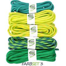 Paracord Starterset Armbänder Farbset 3 - 5x Bänder und Steckschnallen