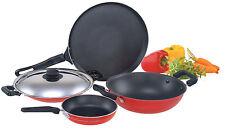 Premier Non Stick 5 piece set Tawa + Kadai + Appam pan + Appam Lid + Fry Pan