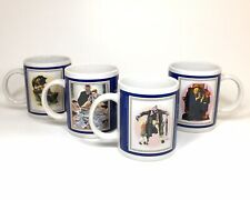 Norman Rockwell Set Of 4 The Saturday Evening Post Collection Coffee Mug