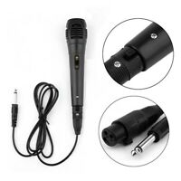 Dynamic Handheld Microphone Recording Mic On/Off Switch Wired Uni-directional