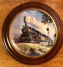 """Hamilton Train Plate Collection """"Orange Blossom Special"""" Limited Plate Nr. 0223A"""