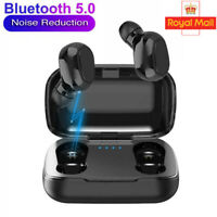 Bluetooth 5.0 Headset TWS Wireless Earphones Mini Earbuds IPX5 Stereo Headphones