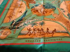 Hermes scarf,  Rare  CHASSES EXOTIQUES by  PHILIPPE LEDOUX   new  with box