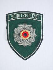 DDR Ärmelabzeichen Aufnäher 1990 -Schutzpolizei- Volkspolizei MDI VP