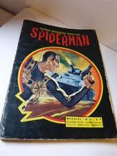 bandes dessinées insolites, spiderman  , N°9 ,1969(car15)
