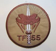 Netherlands Dutch Special Operations Task Force TF 55 Patch (Desert)