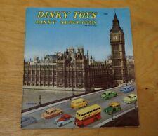 1958 Dinky Toys / Supertoys Original Catalogue England 7/658/90 - Excellent