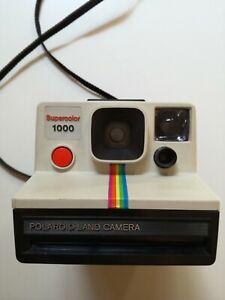POLAROID LAND CAMERA SUPERCOLOR 1000 FOTOCAMERA ISTANTANEA VINTAGE - BELLA !!