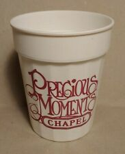 Precious Moments Chapel Plastic Cup