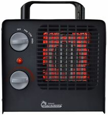 Large Room 1500W Portable Electric Infrared Space Heater Adjustable Thermostat