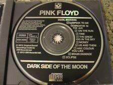 PINK FLOYD... rare    DARK side of the MOON cd JAPAN cpd 7 46001 2  music stoner