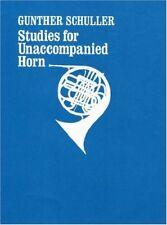 Studies for Unaccompanied Horn / Cor