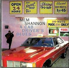 MEM SHANNON a cab driver's blues - CD BLUES