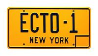 Ghostbusters | '59 Cadillac Hearse | ECTO-1 | STAMPED Replica Prop License Plate