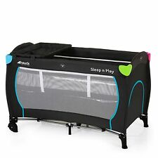 hauck Multicolour Black Sleep N Play Center Baby Travel Cot / Playpen & Mattress