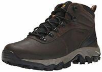 Columbia Men's Newton Ridge Plus Ii Waterproof Hiking, Cordovan/Squash, Size  6V