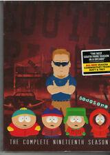 South Park Season 19 (Dvd, 2016, 3-Disc Set, Original Thicker Box) New