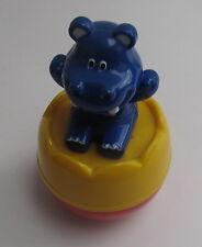 Drehkreisel mit einem Hippo - Rassel
