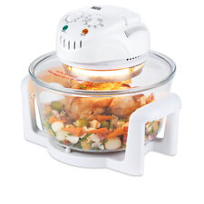 NEW YOUR KITCHEN 12L HALOGEN OVEN- WHITE COLOUR -  Roasts, Grills, Bakes,Air Fry