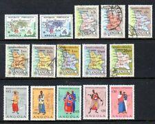 Angola - Scott #'s 383/412 - Unused & Cancelled