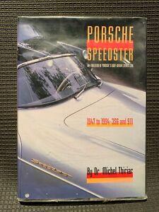 Porsche Speedster - Dr M Thiriar - wonderful condition H/B - proceeds to charity