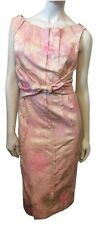 NEW WITHOUT TAGS RICHARD CHAI TIE FRONT WATERCOLOR DRESS SIZE 2