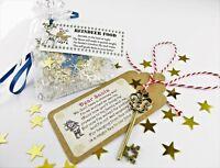 Eco Magic Reindeer Food & Santa key Bag Kids Christmas Eve box Fillers Magical