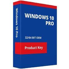 Microsoft Windows 10 Pro 32/64-bits Licencia para 1 Dispositivo