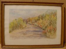 1937 Painting Truscotts Hill Saskatchewan by L G McLurg