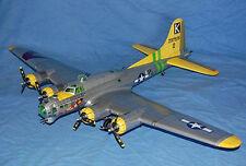 American B-17G air Fort bomber paper model 1:47 Scale Paper Model Kit