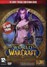 PC DVD-World of Warcraft 14-Day Trial Brand New Sealed Game