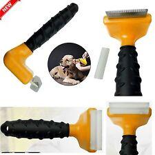 Pet Dog Cat Hair Fur Shedding Trimmer Grooming Rake Professional Comb Brush Tool
