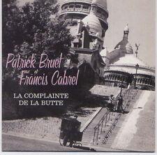 CD CARTONNE 3T PATRICK BRUEL/FRANCIS CABREL/J.J GOLDMAN