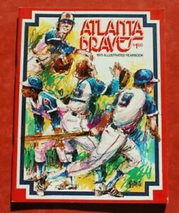 1975 Atlanta Braves Official Baseball Yearbook