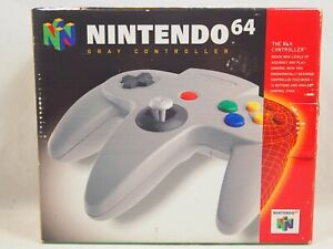 Gray Controller (Nintendo 64 | N64) Authentic BOX ONLY