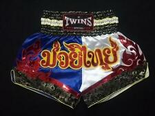 Twins Special Thai Boxing Satin Shorts- Oriental Style-M-XL-XXL
