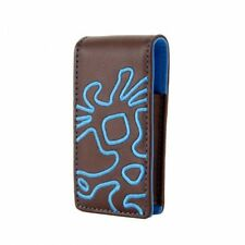 Crumpler Little Big Thing Leather Case For iPod Nano 1G/2G - Brown/Blue NEW