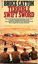 TERRIBLE SWIFT SWORD by Bruce Catton 1976 Paperback